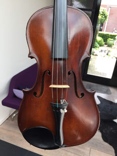 Old probably French Mirecourt violin, Deblaye