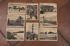 Rodi - Greece - lot of 27 colonial postcards of Italian Occupation (1930)