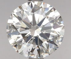 0.56ct Round Brilliant Diamond E IF  IGI -ORIGINAL IMAGE-3EX #VE2