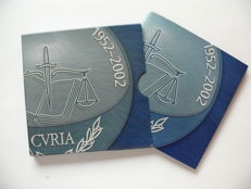 Luxembourg – 25 Euro 2002 'European Court of Justice' – silver