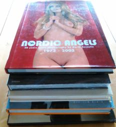 Photography; Lot with 5 books with nude photography-1981/2012
