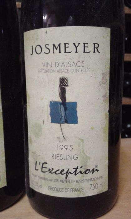 1995 Josmeyer, Riesling L'Exception, Alsace - 6 bottles 75cl