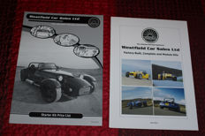 WESTFIELD kitcars - information kit - 5 brochures