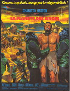 Mascii - La Planète des singes (Planet of the apes, Charlton Heston) - 1967