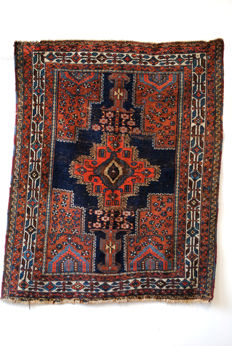 Antique AFSHAR, nomadic rug from  mid-west Persia, around 1920.