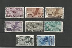 Italian colonies - Selection of complete series