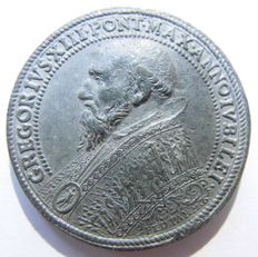 Papal States - Medal of the Holy Year 1575 Gregor XIII 1572-1585 (Ugo Boncompagni)