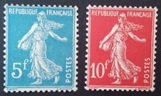 France 1927 - Strasbourg Philatelic Exhibition, signed Calves, Yvert no. 241/242