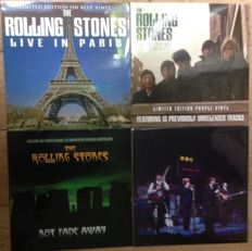 Rolling stones || Collection || 4 LP's || Limited edition || Coloured vinyl ||