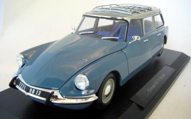 Norev - Scale 1/18 - Citroën DS 21 Break 1970