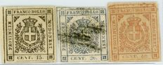 Modena – Lot of 3 stamps