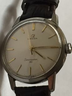 Omega- Seamaster30-Men's-1955-Caliber 286 -  Rear