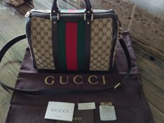 Gucci – Boston bag canvas