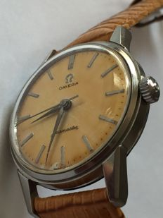 Omega- Seamaster-Men's-1955-Caliber 285 - Orange Dial-Ultra Rear