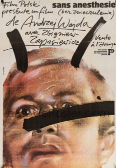 Waldemar Swierzy -  Without Anesthesia and other Portrait Posters – 1978/1988