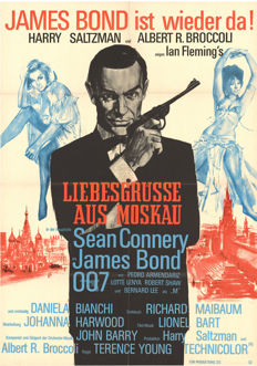 Bons baisers de Russie - From Russia with love- James Bond - 1963