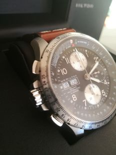 HAMILTON KHAKI AVIATION X-WIND AUTO CHRONO H77616533 men's watch 2012