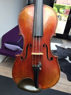 Old German 4/4 violin, P. Robert Penzel, 1933