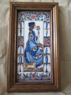 Fa. de Vries & Kuiken from Makkum - Hand painted tile tableau
