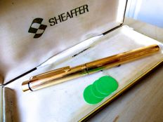 Sheaffer fountain pen - Gold plated - 14 Carat gold nib - Made in U.S.A - As good as new - 2005-2010