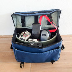 Camera bag with 20 different Canons