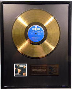 "The Rolling Stones - Out of our heads -  12"" german Decca record gold plated record by WWA Awards"