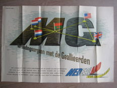 Three posters of the liberation of The Netherlands from 1944 and 1945
