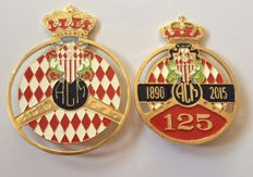 Automobile Club of Monaco car grill badge-set of 2pcs - car grill badge emblem mg jaguar, triumph porsche ferrari audi