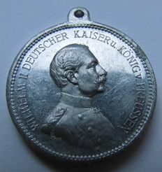German Empire, First Wolrd War - Medal 1914 by Lauer/Nürnberg commemorating to Iron Cross Award