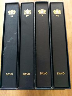 The Netherlands 1970/2001 - collection of postage stamps in three Davo LX albums + empty album.