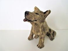 "Liz Hansen - Sculpture  ""Japanese Dog"" Unicum"
