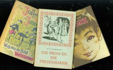 W.G. van de Hulst; Lot with 3 publications in other languages - no date / 1965