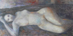 Attribuibile a Rubens Capaldo (1908 - 1998) - Nudo disteso