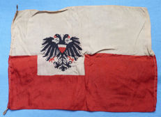 Very rare WW1 Austro-Hungarian Army Staff Car Pennant Flag