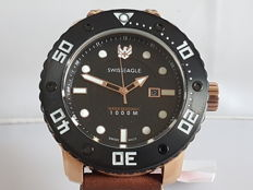 Swiss Eagle Abyss Professional diver's watch, 1000 metres  waterproof - wristwatch - 2017.