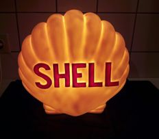 Shell advertising lamp - neon sign