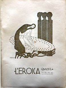 L'Eroica Issues no. 77 and 80 year 1921 of the collection Fondo Ettore Cozzani