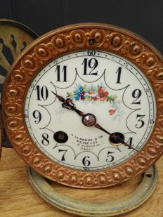 French pendulum movement - Vincent & Cie - fitting dimensions 10.1 cm - period around 1880