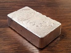 10 troy ounce cast Silver bar .999, AgStackers