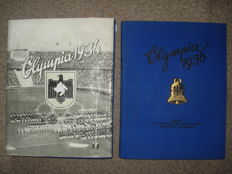 Olympia 1936 2 collector pictures albums volume 1 + 2