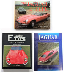 Collection of 3 Jaguar books.