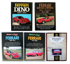 Collection Ferrari books.