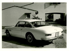 Ferrari 330 G.T Coupe 2 +2 original Pininfarina press photograph.