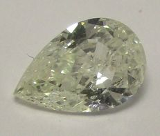 Diamond - pear 0.70 ct H SI2