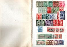 Kingdom of Italy – Lot of stamps.