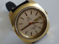 OMEGA Seamaster Cosmic 2000, day date, vintage men's wristwatch, 1970s, RECONDITIONED