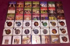 Beautiful Lot: Classic Collection Of 100 Cd`s Including All The Famous Composers Like; Bach,Mozart,Vivaldi,Brahms,Handel,Tschaikowsky And Many More.