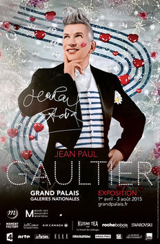 Jean Paul Gaultier - Grand Palais (signed) - 2015