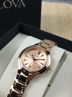 Bulova Ladies Dress Rose Gold ref. 97L151 Women's Watch