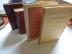 lot of 4 books - Horace - 1891-1962